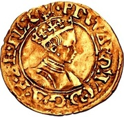 ½ Crown - Edward VI (2nd period; crowned bust) – obverse