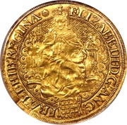 1 Sovereign - Elizabeth I (6th issue) – obverse