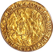 1 Sovereign - Elizabeth I (6th issue) – reverse