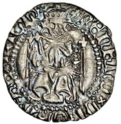 1 Penny - Henry VIII (1st coinage; Durham mint) -  obverse