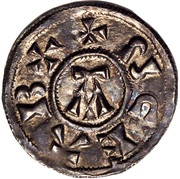 Penny - St Edmund (Memorial coinage) – obverse