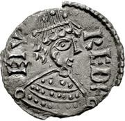 Halfpenny - Alfred (Viking imitation) – obverse