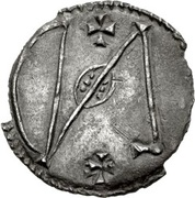 Halfpenny - Alfred (Viking imitation) – reverse
