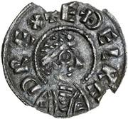 Penny - Æthelred I (4-line type) – obverse