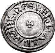 Penny - Æthelstan (Small cross type) – reverse