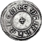 Penny - Æthelstan (Portrait type) – reverse