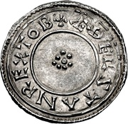 Penny - Æthelstan (Rosette type) – obverse