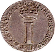 1 Penny - William & Mary (incl. Maundy) – reverse