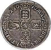 1 Shilling - William III (1st bust; York mint) – reverse
