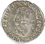1 Penny - Charles I (Tower mint; Group C) – obverse