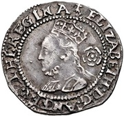 3 Pence - Elizabeth I (3rd & 4th issues) -  obverse