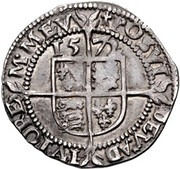 3 Pence - Elizabeth I (3rd & 4th issues) -  reverse