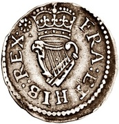 1 Farthing - James I (Lennox issue; type 2) – reverse