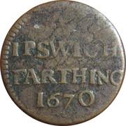 Farthing - Suffolk (Ipswich / Town) – obverse