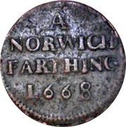 Farthing - Norfolk (Norwich / Town) – obverse