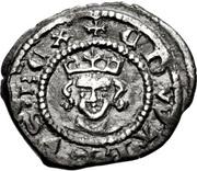 1 Farthing - Edward III (4th coinage; Treaty period) – obverse