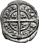 1 Farthing - Edward III (4th coinage; Treaty period) – reverse