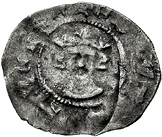 1 Farthing - Edward III (1st coinage; London mint) – obverse