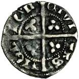 1 Farthing - Edward III (2nd coinage; London mint) – reverse