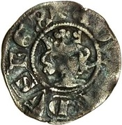 ½ Penny - Edward III (3rd coinage) – obverse
