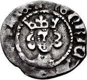 ½ Penny - Henry IV (Heavy coinage) – obverse