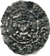½ Penny - Henry VI (1st reign; Trefoil issue) – obverse
