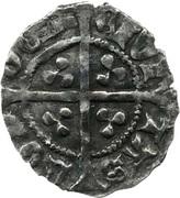 ½ Penny - Henry VI (1st reign; Trefoil issue) – reverse