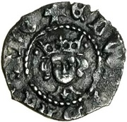 ½ Penny - Edward IV (1st reign; Heavy coinage) – obverse