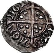 ½ Penny - Edward IV (1st reign; Light coinage) – reverse
