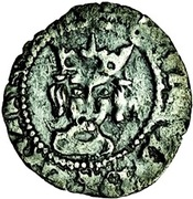 ½ Penny - Richard III (London mint) – obverse