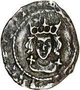 ½ Penny - Henry VII (Facing bust issue) – obverse