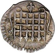 ½ Penny - James I (1st coinage) – obverse