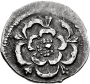 ½ Penny - Charles I (Tower mint) – obverse