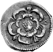 ½ Penny - Charles I (Tower mint) – reverse
