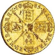 1 Guinea - James II (1st bust) – reverse