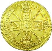 1 Guinea - William III (2nd bust) – reverse