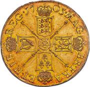 5 Guineas - Anne (pre-union shields) – reverse
