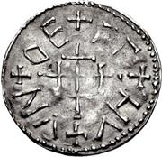 Penny - Wiglaf (1st reign) – reverse
