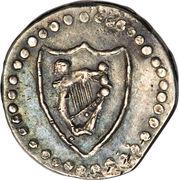 ½ Penny - Commonwealth – reverse