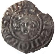 ½ Penny - Edward I (Newcastle mint) – obverse