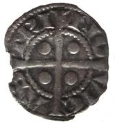 ½ Penny - Edward I (Newcastle mint) – reverse
