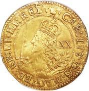 1 Unite - Charles I (Oxford mint) – obverse