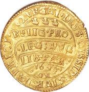 1 Unite - Charles I (Oxford mint) – reverse