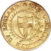 1 Unite - Commonwealth of England – obverse