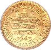 Triple Unite - Charles I (Oxford mint) – reverse