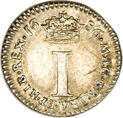 1 Penny - James II (incl. Maundy) – reverse