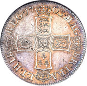 1 Shilling - Anne (2nd bust) – reverse