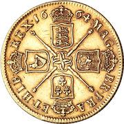 2 Guineas - Charles II (1st bust) – reverse