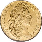 2 Guineas - William III – obverse