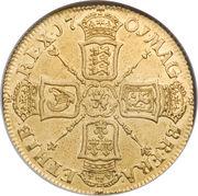 2 Guineas - William III – reverse